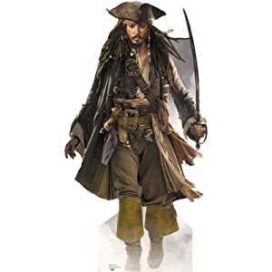 Pirates of the Caribbean Captain Jack Sparrow Life Size (183cm) Standee