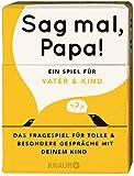 Sag mal, Papa!: Das Fragespiel für Vater und Kind - Elma van Vliet