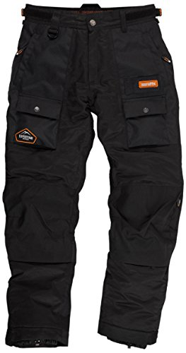 Scruffs Expedition Thermo-Hose für Herren, schwarz
