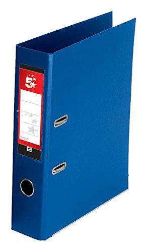 5 Star Aktenordner PVC 70 mm Rücken A4 10 Stück königsblau