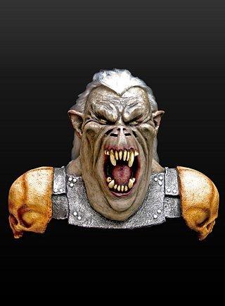 Erwachsenen Aragorn Kostüm Für - Kostüm Halloween Orkkrieger Maske aus Latex