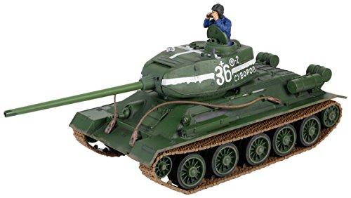 Russischer T-34 Ferngesteuert von Forces of Valor 1:24 RC Infrarot Kampfsystem