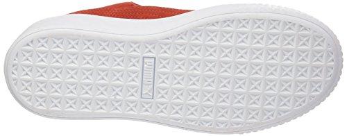 Rot Suede Sneaker Puma Cherry Cherry White barbados puma barbados Platform Damen xqAgI7Z