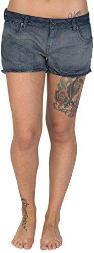 Burton Damen Shorts WB Skimmer, Charcoal, 28, 14638100058 (Jean Shorts Skimmer)