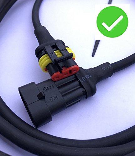 Transformator Kabel für Gardena Mähroboter – Niederspannung – für Modelle: R38Li, R40Li, R45Li, R50Li, R70Li, R75Li, R80Li – [Ersatzteile für Ladestation Nur Passend für Modelle ab 2016, 2017, 2018] – (3 meter)