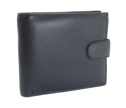 mens-high-quality-luxury-soft-black-tri-fold-leather-wallet-id-window-credit-debit-card-holder-coin-