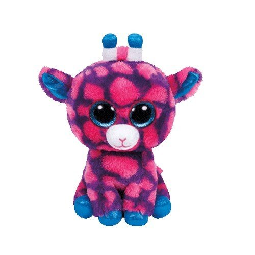 """Beanie Boo Giraffe - Sky High - Pink - 15cm 6"""""""