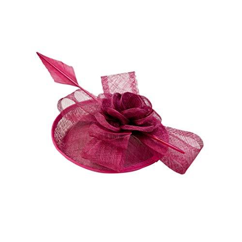 OLADO Fascinator Hat für Frauen Race Derby Grace Headpiece Kirchenhaarzusätze