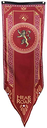 Game of Thrones Lannister Tournament Banner by Calhoun Sportswear