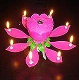 Cumpleaños VELA ANKEE R Postilla loto velas musicales rotaría Lotos