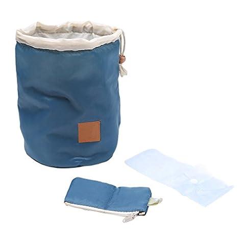 VWH 3PCS Waterproof Travel Bag Makeup Cosmetic Bag Toiletry Organizer