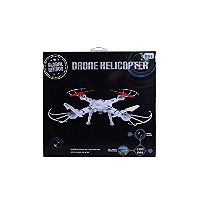 Global Gizmos 2.4 GHz Flying Drone Quad Helicopter with Camera
