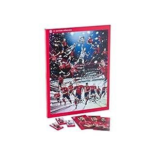 FC Bayern München Schoko-Adventskalender 2018, mit Autogrammkarten der Spieler