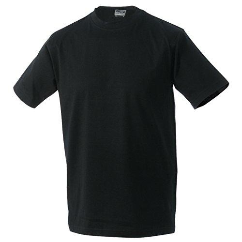 JAMES & NICHOLSON T-shirt comfort in single jersey 150 g Black