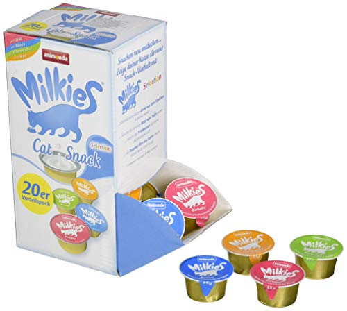 Animonda Milkies Selection, 4 Sorten á 5 Kapseln = 20 Kapseln á 15 g
