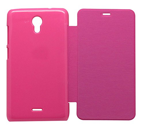 vrv Flip Cover for Micromax Canvas Unit 2 A106 - Pink  available at amazon for Rs.165