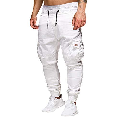 Zoom IMG-1 yu ting pantaloni cargo uomo
