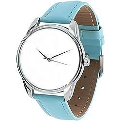 Uhren-Armband, original, Leder,Weiß