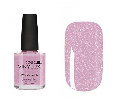 CND Vinylux–Weekly Polish 15ml–Lavendel Spitze–Teil der New flirten Collection