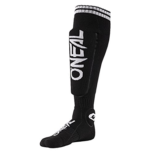 O'Neal MTB Protektor Knie Socken Strümpfe Mountain Bike Enduro Offroad Downhill DH Komfort, 0357-100 (Off-road-mountain-bike)