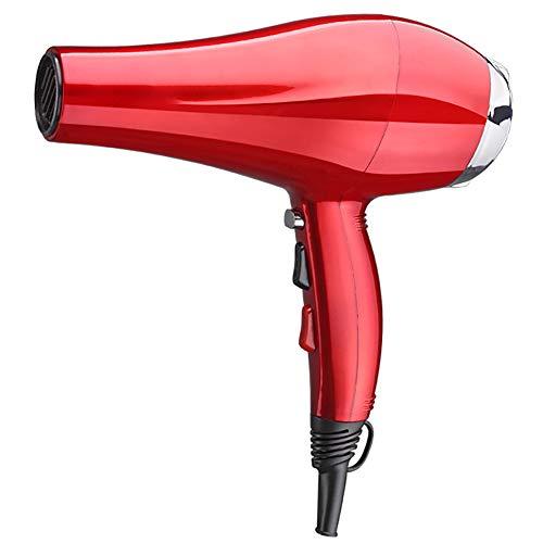 Professionelle 2500W Fön mit Diffusor Konzentrator leistungsstarken thermostatischen Salon Fön, Reisehotel Herren Trockner-red