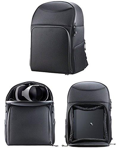 Steuerung Fall Ps4 (Navitech robusten schwarzen Tragerucksack / Rucksack / Tasche für PS4 Pro und PSVR)