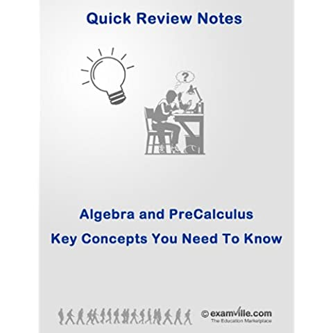 Quick Review: Basic Algebra and Pre-Calculus (Quick Review Notes) (English Edition)