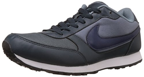 Nike Men's Eliminate Ii Classic Charcoal, Navy and White Mesh Running Shoes - 9 UK
