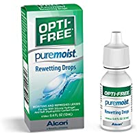 Opti-Free PureMoist Rewetting Drops - 12 ml by Opti-Free
