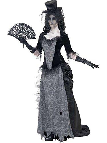 Kostüm FANTOME schwarze Witwe Größe S (Veuve Noire Kostüm)