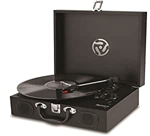 numark pt01 touring portable three speed 33 1 3 45 and 78rpm suitcase turntable with usb. Black Bedroom Furniture Sets. Home Design Ideas