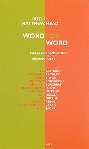 Word for Word: Selected Translations from German Poets by H.C. Artmann (2009-06-18)