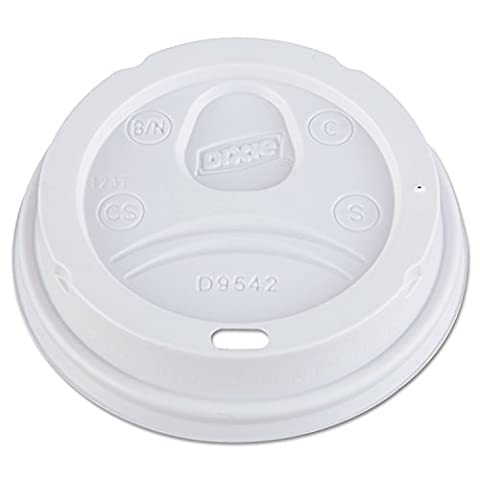 DXED9542 - Dome Drink-Thru Lids by Dixie by Dixie