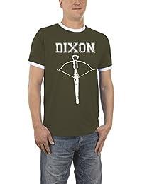 Touchlines Herren T-Shirt Dixon Arrow Kontrast