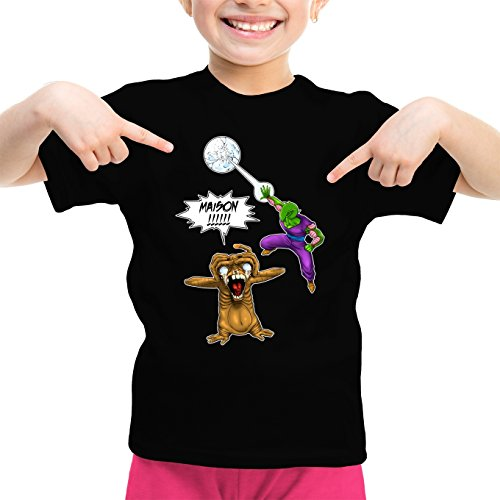 T-Shirts Dragon Ball Z Extra-Terrestre parodique Piccolo E.T l'Extra-Terrestre : Maison !!!!!!!!!!!!!!! (Parodie Dragon Ball Z Extra-Terrestre)