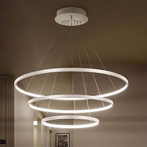 Zoom IMG-2 led cerchio luce moderna del