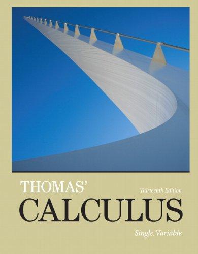 PDF Free] Thomas' Calculus: Multivariable FREE - tygu65gtyt