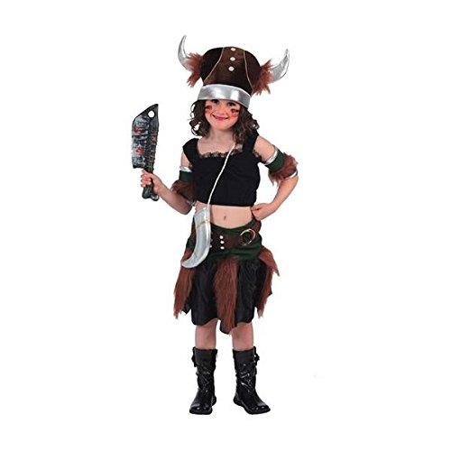 (Fyasa 705934-t02Viking Girl Kostüm, Mittel)
