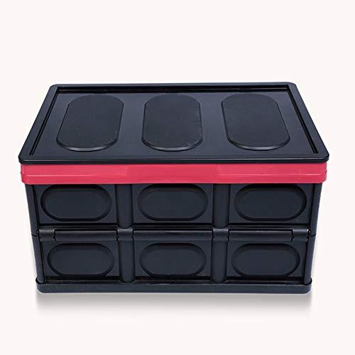 Sen-Sen Professionelle Mehrzweck Kofferraum Kofferraum Tasche Box ordentlich Heavy Duty Organizer schwarz -