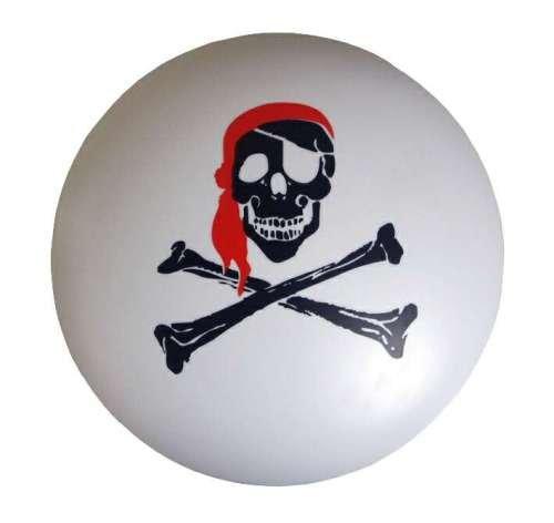 Niermann 677 Deckenleuchte Piratenkopf, Durchmesser 36 cm, Höhe: 10 cm, GlÃ1/4hlampen: E 27, Leistung: max. 15 Watt Energiesparleuchte (nicht im Lieferumfang enthalten)