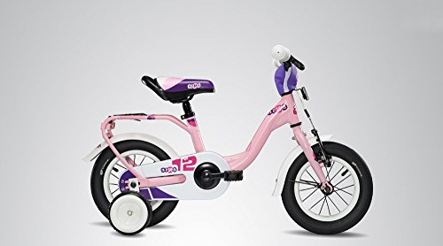S'COOL Kinder niXe Alloy 12 Kinderfahrrad Lightpink Matt Zoll