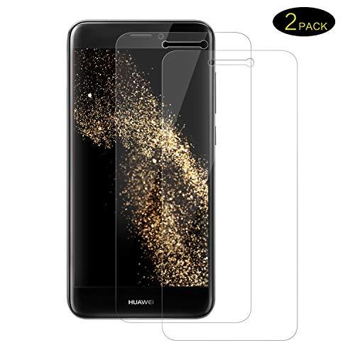 DOSMUNG Cristal Templado para Huawei P8 Lite 2017, Protector de Pantalla para Huawei P8 Lite 2017 Alta Definición, Sin Burbujas, Anti-arañazos, [ 2 Unidades]