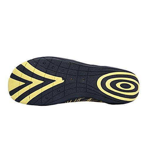 PINYOU , Chaussures aquatiques pour homme Jaune
