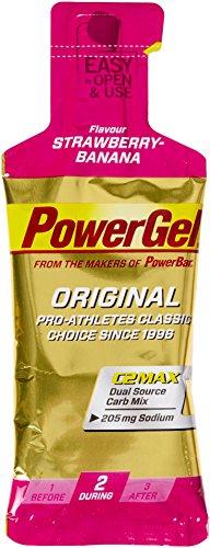 Powerbar PowerGel Original 41 g Beutel X 24 Gele - Erdbeer Banane