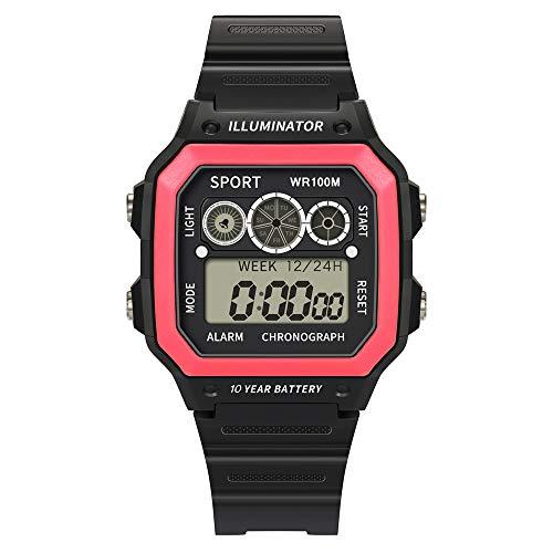 Herren Military Heer Multifunktions Digital LED Armbanduhr Wasserdicht Elektronischer Sport