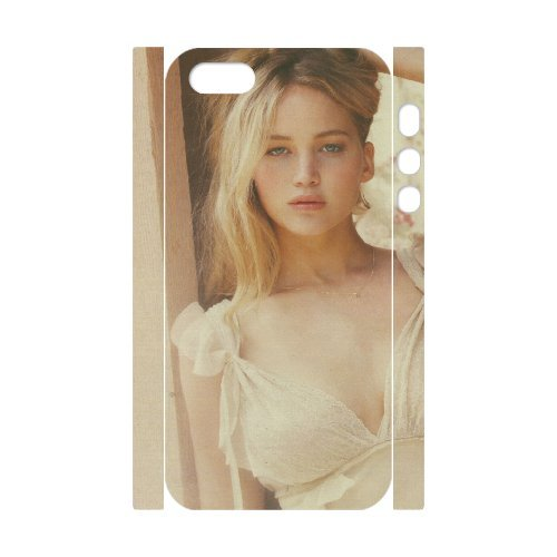 LP-LG Phone Case Of Jennifer Lawrence For iPhone 5,5S [Pattern-6] Pattern-4