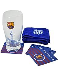 F.C. Barcelone Produit officiel Mini Set pour Bar