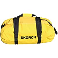 SKORCH - Zaino impermeabile, Yellow Waterproof Duffel Bag 30cm x 58cm