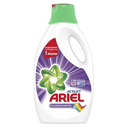 Ariel Colorwaschmittel Flüssig, 2,2 L, 1er Pack (1 x 40 Waschladungen)