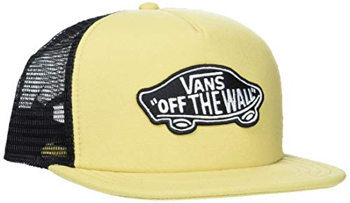 Vans_apparel classic patch trucker, berretto da baseball uomo, giallo (new wheat m8q), taglia unica